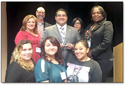 Supervisor Ramos receives youth empowerment award