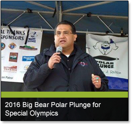 2016 Big Bear Polar Plunge for Special Olympics