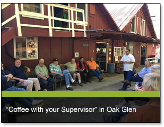 """Coffee with your Supervisor"" in Oak Glen"