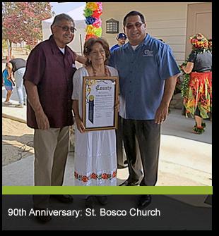 90th Anniversary: St. Bosco Church