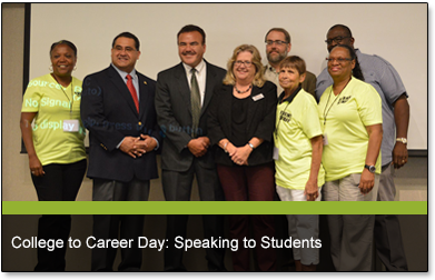 College to Career Day: Speaking to Students