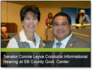 Senator Connie Leyva Conducts Informational Hearing at SB County Govt. Center