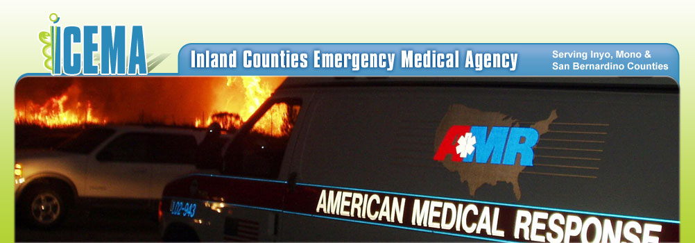 Banner Image - Ambulance at a Fire
