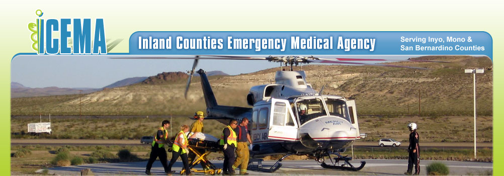 Banner Image - Helicopter on Ground Loading Patient