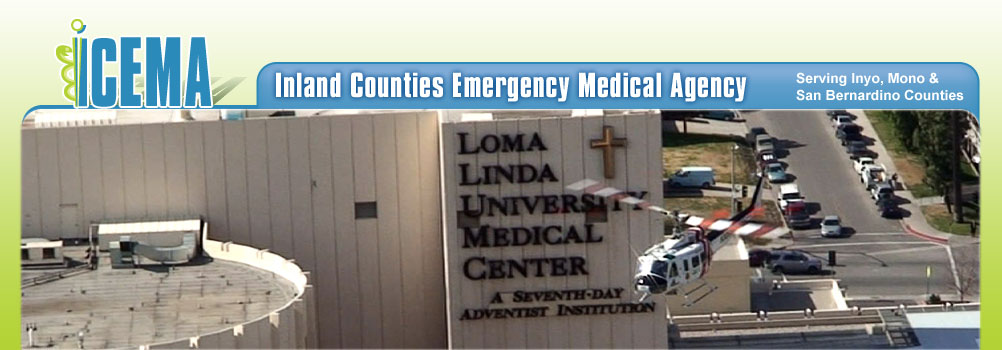 Banner Image – Loma Linda University Medical Center Helicopter