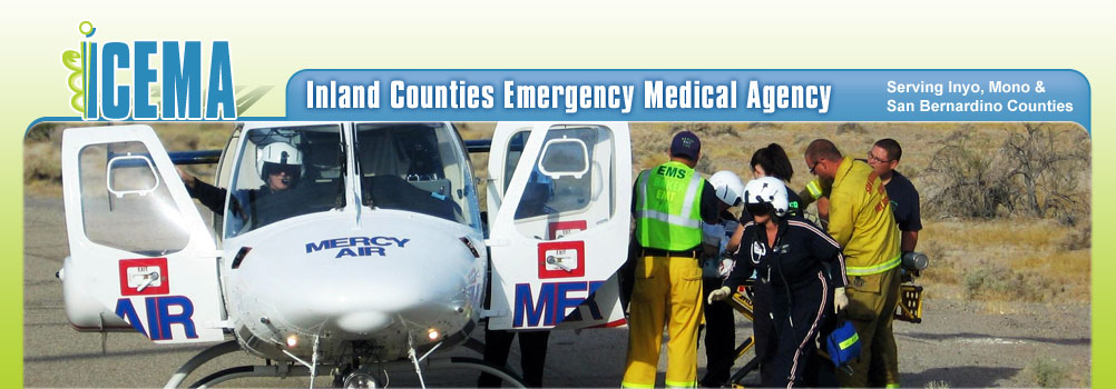 Banner Image - Mercy Air Loading Patient into Helicopter