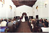 Wedding in the Asistencia chapel