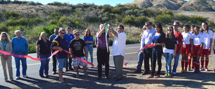 Ribbon Cutting Yucaipa Valley Youth Soccer Association