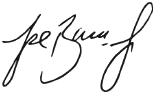Supervisor Baca Jr's signature