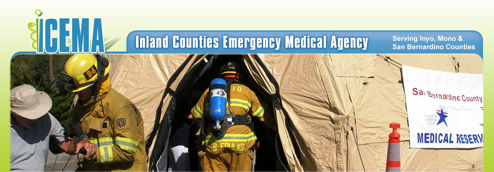 ICEMA - Inland Counties Emergency Medical Agency Serving